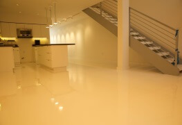 What other areas are good for epoxy flooring