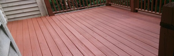 Deck Staining Service - Contractor