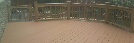 Deck Staining Services