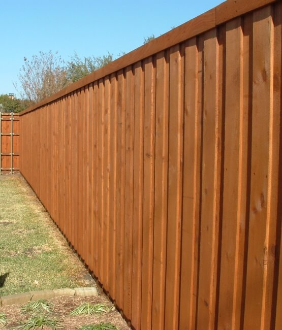 Fence Staining Service